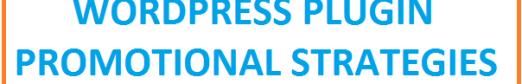 wordpress plugin promotional strategies