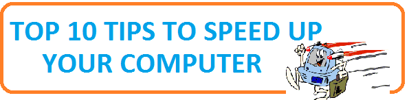 10 tips to speed up computer