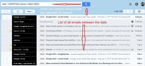 gmail search tips