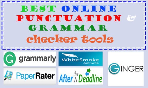 Free Best Online Punctuation Checker Tools