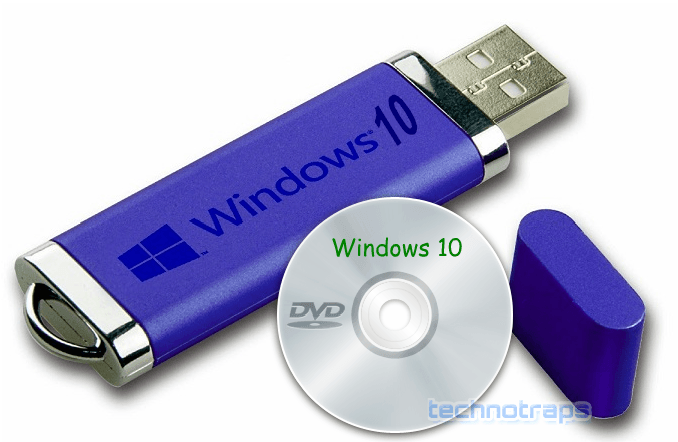 Windows-10-bootable-Pendrive-DVD