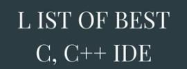 Best C, C++ IDE