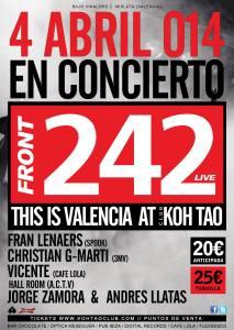 This is Valencia FRONT 242 en directo