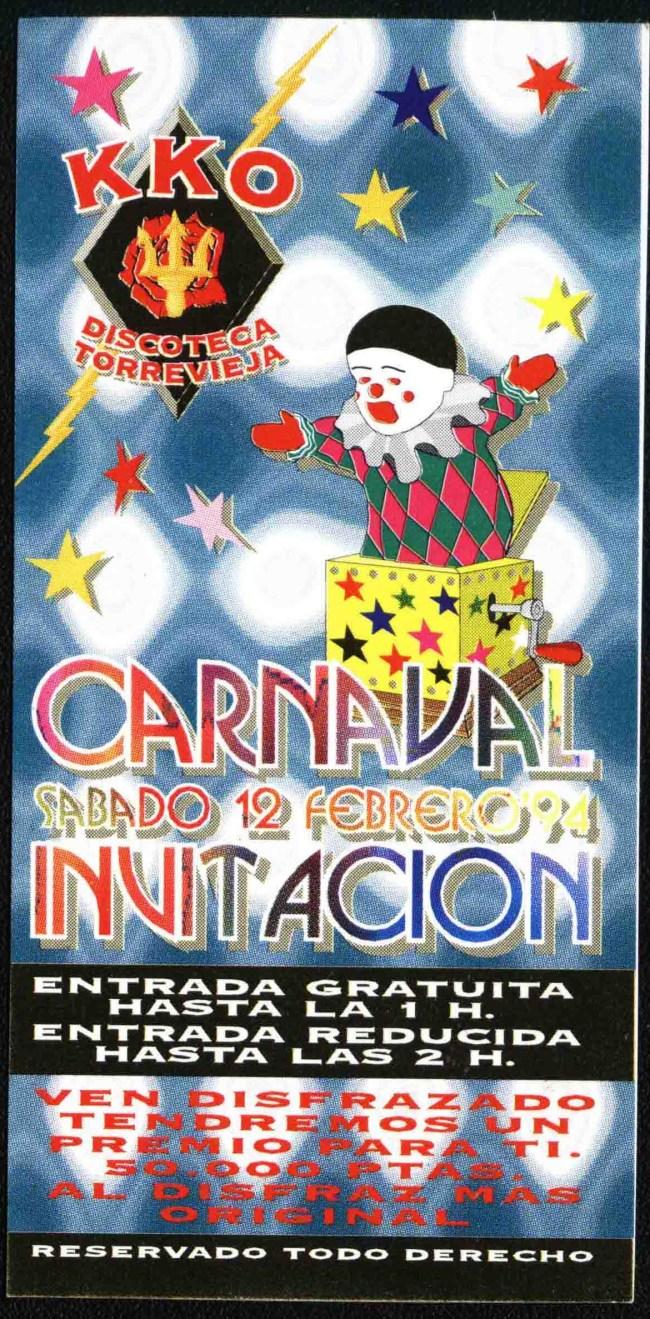 KKO carnaval 94