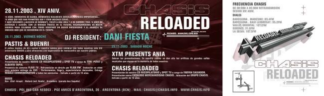 Chasis 14 Aniversario