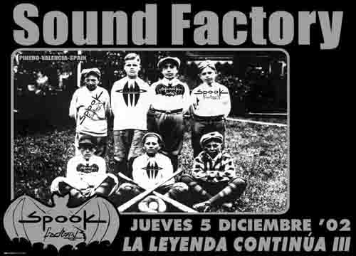 SOUND FACTORY.CARTEL FIESTA SPOOK FACTORY.06