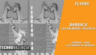 flyers_barraca_-_febrero_1994_los_amores_de_barraca