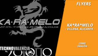 flyers_ka-ra-melo_-_villena_alicante_2000_dragon