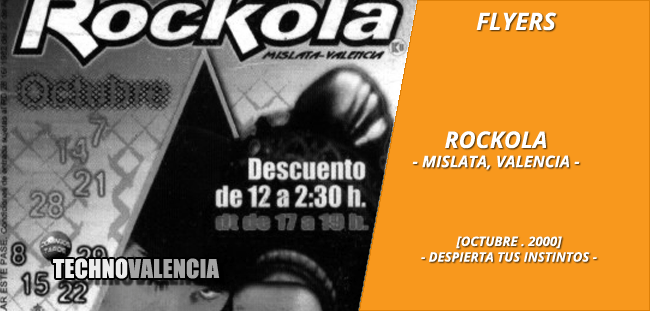flyers_rockola_-_mislata_octubre_2000_despierta_tus_instintos