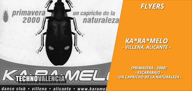 flyers_ka-ra-melo_karamelo_-_villena_alicante_primavera_2000_escarabajo