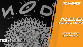 flyers_n.o.d._-_ribarroja_valencia_sesiones_abril_saeta_maquina