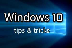Windows-10-Tricks