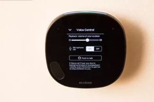 image of ecobee smart thermostat