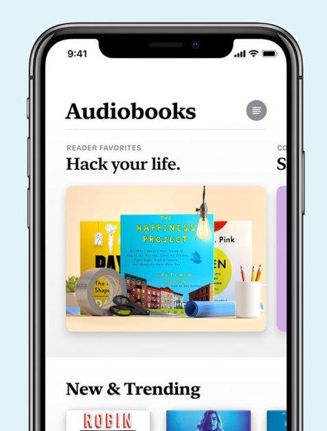Apple Books Audio Books