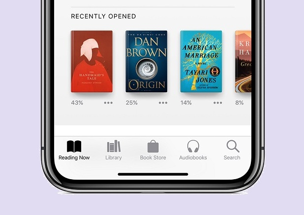 Apple Books Reading App