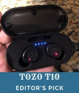 Tozo T10 Bluetooth earbuds under 50