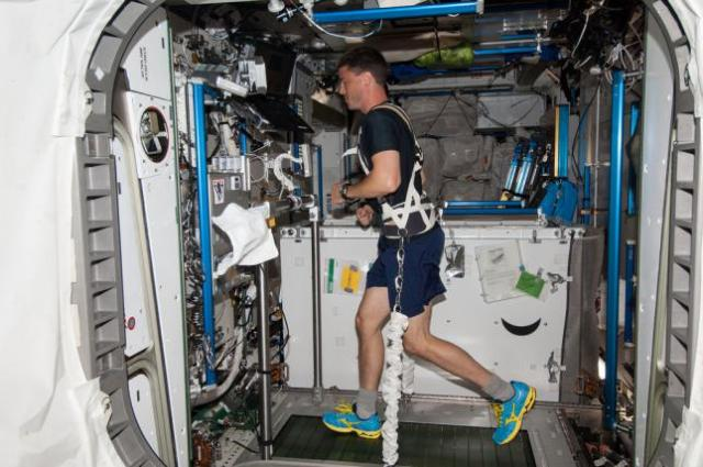 what do astronauts do international space station