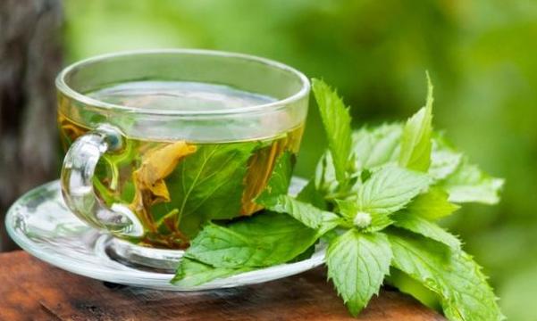 green tea garlic smell