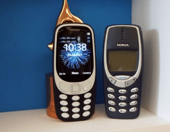 new n old nokia