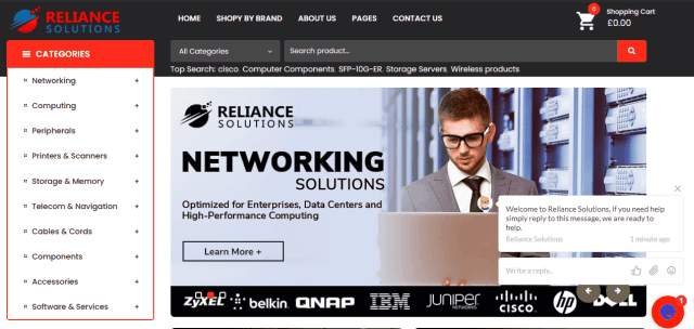 List Of Best Online Stores For Network Devices In The UK Reliancesolution.Co.Uk