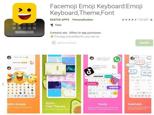 Best Emoji Apps For Android In 2021 Facemoji Emoji Keyboard - Emoji Keyboard,Theme,Font