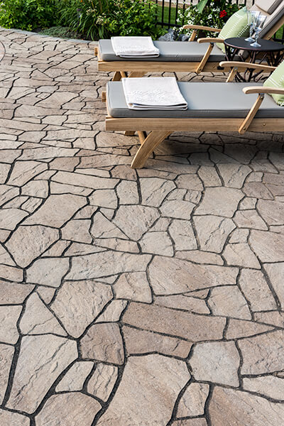 flagstone 60 mm discontinued patio
