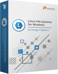 Paragon Linux File Systems for Windows Discount