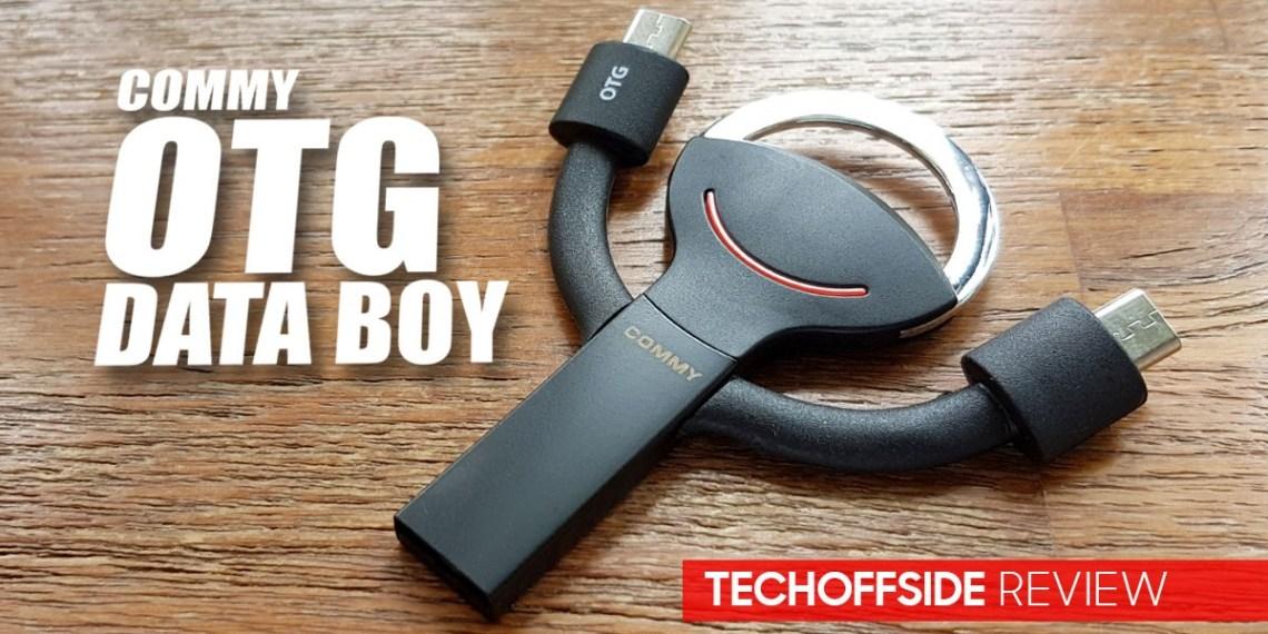 รีวิว OTG Data Boy Flash drive 32 GB