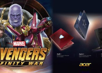 Acer - Marvel's Avengers Infinity War Limited Edition