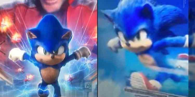 Sonic movie new design