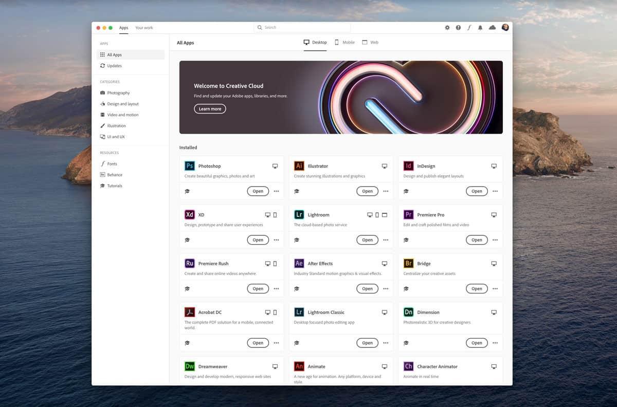 Adobe Creative Cloud ลดราคา