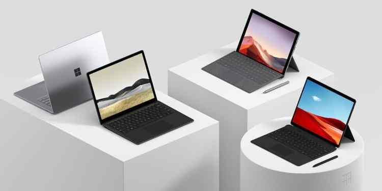 ราคา Surface Pro 7 และ Surface Laptop 3