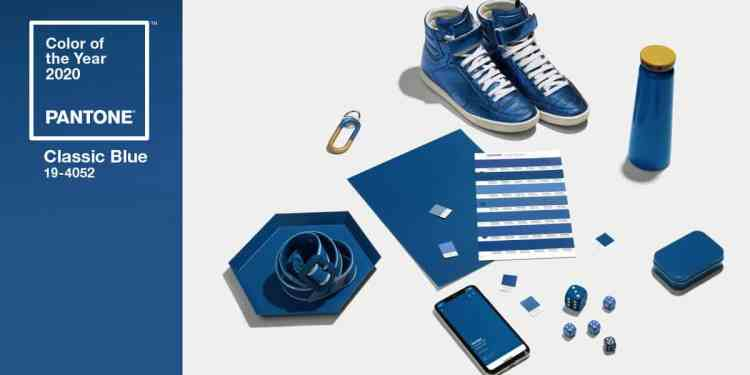 PANTONE Classic Blue color of the year 2020