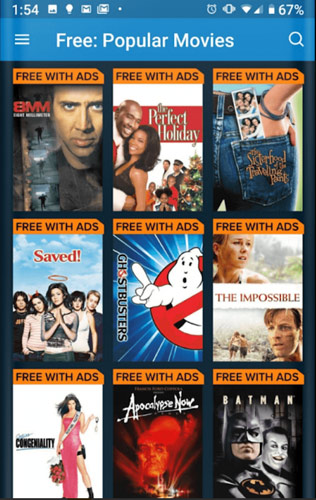 free-movie-apps-android-vudu