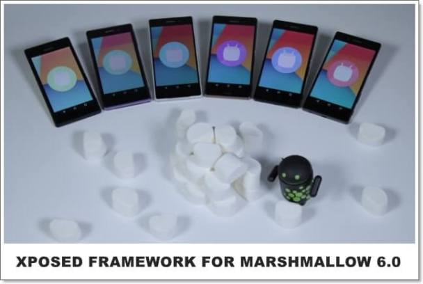 install xposed for marshmallow