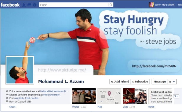 Facebook cover design by Mohammed L. azzam