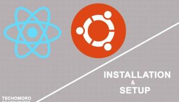 How to Install and Setup a React App on Windows 10 - Techomoro