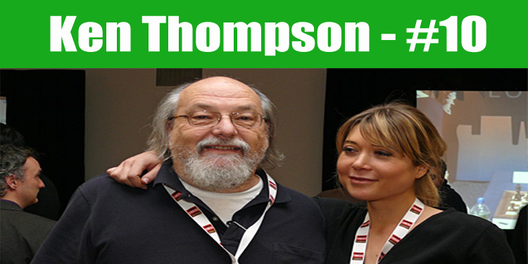 image: Ken Thompson top programmer in the world