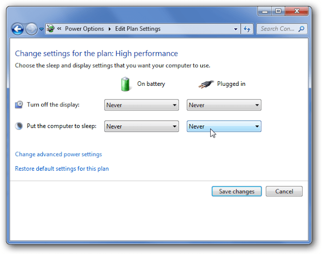 How To Disable Power Management in Window 7