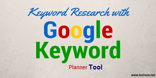 image of How To Use Google Keyword Research Planner Tool