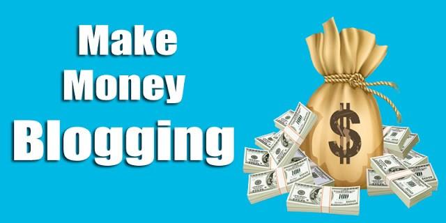 image about make money blogging to make money online