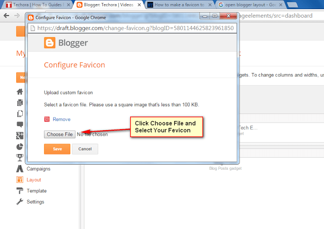 How To Add Custom Favicon in Blogger Blog