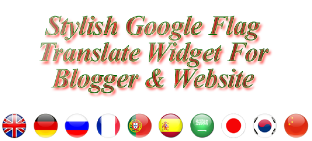 How To Add Google Translate Widget To Blogger Blogs