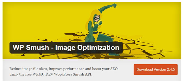 image : WP-Smush the best wordpress plugin to optimize images and speed up site