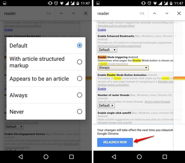 How To Reader Mode Enable in Chrome for Android Devices
