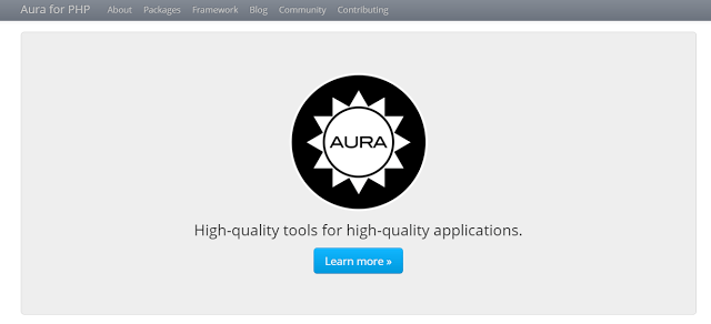 aura best php framework for web development