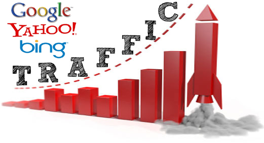 how to drive more traffic from search engines like Google, Yahoo, Bing
