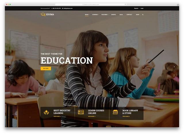 Top 10 Responsive Educational WordPress Themes
