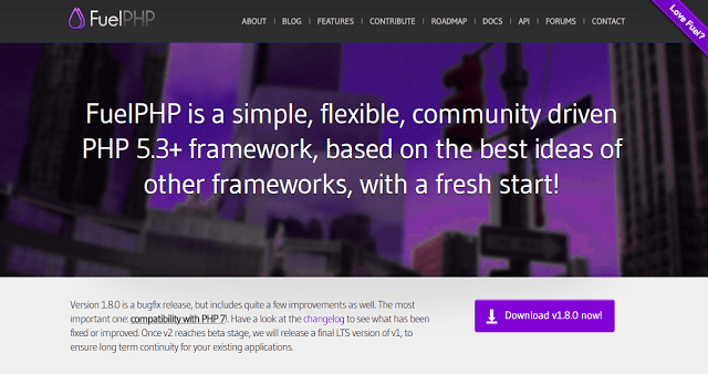 fuelphp best php framework for web development