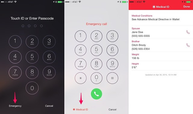 How To Track Right Owner of a Lost iPhone using iPhone Medical ID